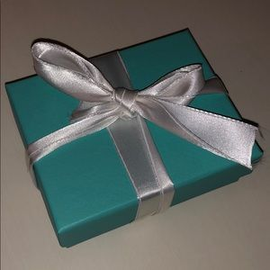 Tiffany & Co. small box with pouch
